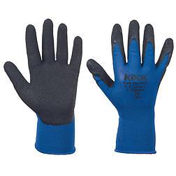 BEASTY BLUE kesztyű nylon, latex tenyér