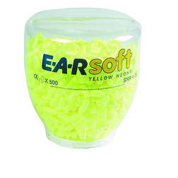 3M E-A-Rsoft Yellow Neon füldugó (PD-01-002)