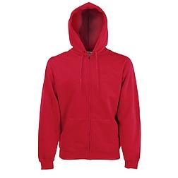 Classic Zip Thru Hooded Swt  - kapucnis, cipzáras pulóver