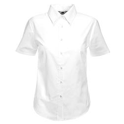 Ladies Oxford S/S Shirt - rövid ujjú ing