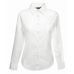 Ladies Poplin Shirt L/S - hosszú ujjú ing