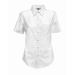 Ladies Poplin Shirt S/S - rövid ujjú ing