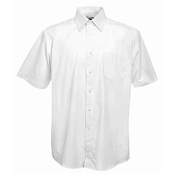 Mens Poplin Shirt S/S - rövid ujjú ing