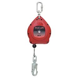Falcon zuhanásgátló - Súly: 4kg, Hoszz: 6.2m - rozsdamentes acélkábellel