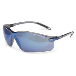A700 védőszemüveg, kék tükrös