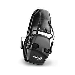 Impact Sport Black- összehajtható, keskeny elektromos fültok (3,5 Jack)