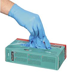 DEXPURE® 800-81, púdermentes nitril kesztyű