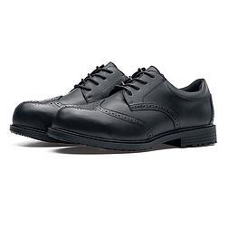 Shoes for Crews EXECUTIVE WING TIP (S2) - felszolgáló cipő