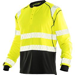 Jobman 5598 - UV-Pro láthatósági hosszú ujjú póló