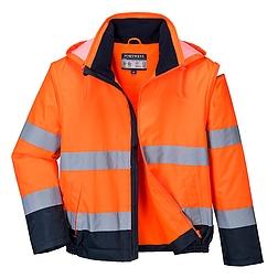 Essential 2 az 1-ben jól láthatósági kabát