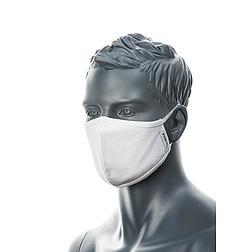Fehér textil maszk 2 rétegű, antimikrobiális (mosható)
