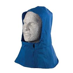 Hőálló kámzsa kék textil