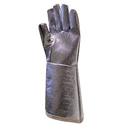 Aluminizált kesztyű 38 cm hosszú