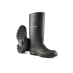 Dunlop pricemastor 380PP fekete PVC csizma
