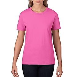 Gildan Premium - rövid ujjú, női póló