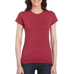 Gildan Softstyle - rövid ujjú, női póló