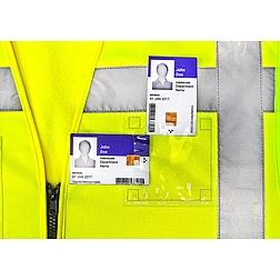 Dupla azonosítótartó - ragasztható