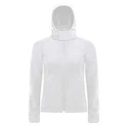 B&C Hooded - női softshell dzseki