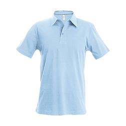 Kariban Pique Polo Shirt - rövid ujjú, férfi galléros póló