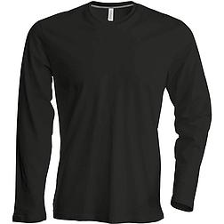 Kariban Long Sleeve Crew Neck - hosszú ujjú, férfi póló