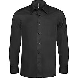 Kariban Stretch Shirt - hosszú ujjú, férfi ing