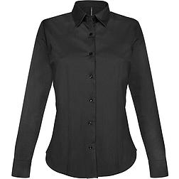 Kariban Stretch Shirt - hosszú ujjú, női ing