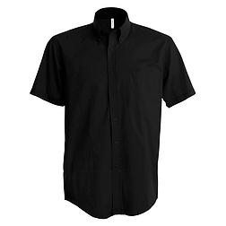 Kariban Stretch Shirt - rövid ujjú, férfi ing