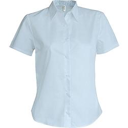 Kariban Oxford Shirt - rövid ujjú, női ing