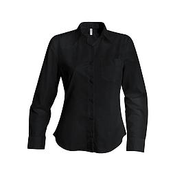 Kariban Poplin Shirt - hosszú ujjú, női ing