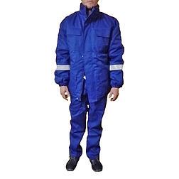 Téli bélelt kabát antisztatikus, hő-láng elleni, sav- és vegyszerálló