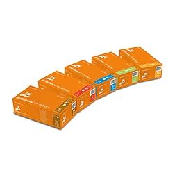 AMBULANCE NITRILE nitril, narancssárga vizsgálókesztyű