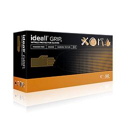 IDEALL GRIP+ púdermentes nitril szerelőkesztyű