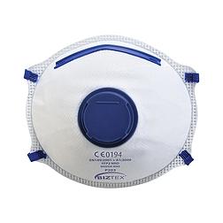 FFP2 szelepes Dolomit légzésvédő maszk