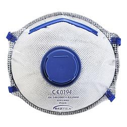FFP2 aktívszenes szelepes Dolomit légzésvédő maszk