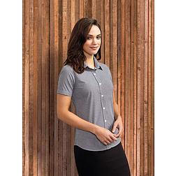 Premier Gingham - női rövid ujjú ing