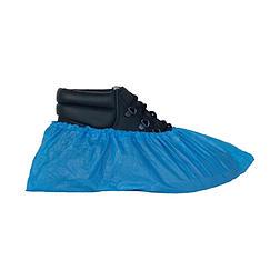 Cipővédő PE érdesített talp, 2,3gr, gumírozott felsőrész