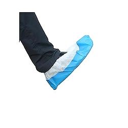 Cipővédő fehér PP/kék PE talp