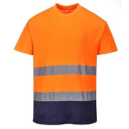 Hi-Vis kontraszt pólóing