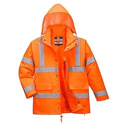 Jól láthatósági 4 az 1-ben kabát