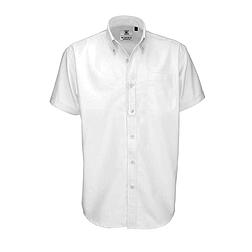 B&C Oxford - rövid ujjú férfi ing