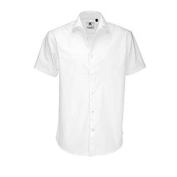 B&C Black Tie - rövid ujjú férfi ing