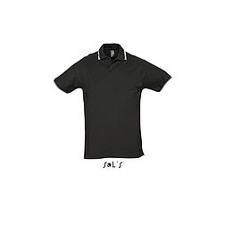 Sols Practice - rövid ujjú, férfi galléros póló