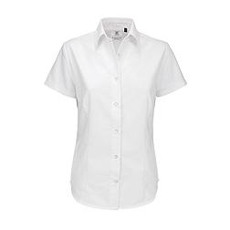 B&C Oxford - rövid ujjú női ing
