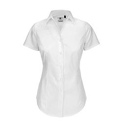 B&C Black Tie - rövid ujjú női ing