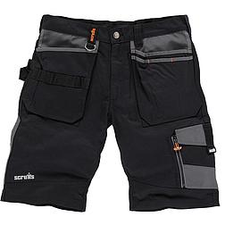 Scruffs Trade rövidnadrág - fekete
