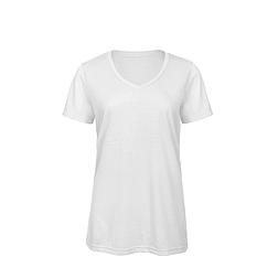 B&C TW056 Triblend V - női póló