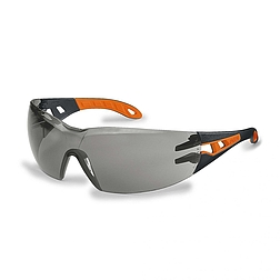 uvex pheos 9192 - száras védőszemüveg (szürke)